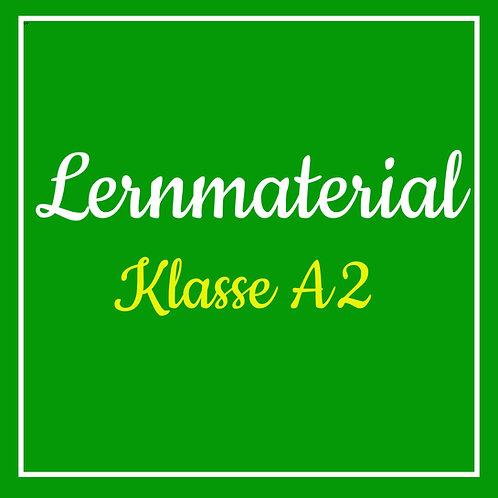Lernmaterial Klasse A2