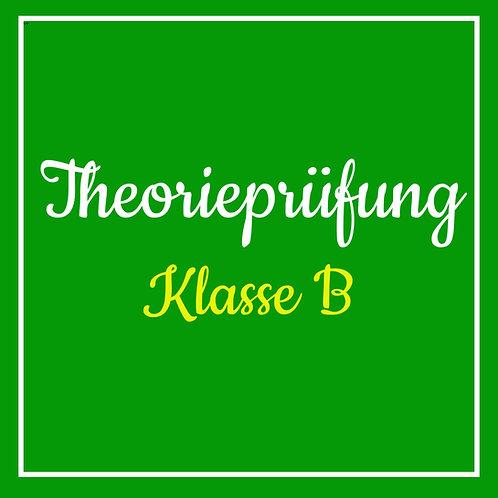 Theorieprüfung Klasse B inkl. TÜV