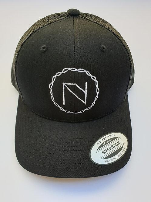 Logo Snapback - BLACK