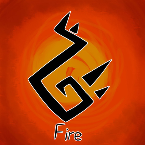 Fire, an explosive element that often reflects in the user's personality. Fire is one of the strongest elements and can be harnessed in many ways. Whether it's breathing fire, summoning fireballs or even creating smokescreens. Often, however, it's the loud mouthed user you have to be wary of.