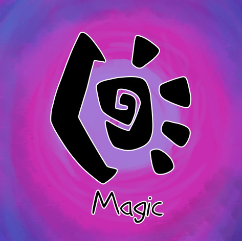 Magic, the most unpredictable of the elements. Magic users tend to lean into specific roles, such as witches, in order to hone their skills in a specific area. Mazenta is able to use her magic to create a wing of light in place of her missing limb, allowing her to fly alongside her draconic bretheren.