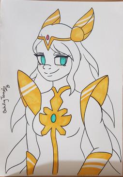 She-Ra Copic Illustration