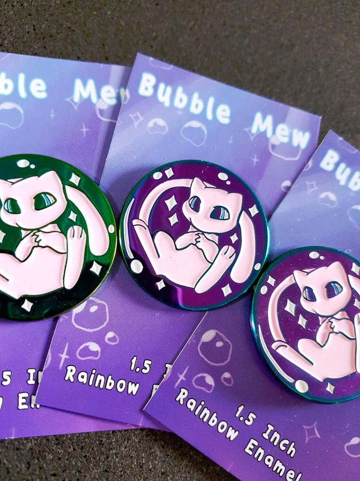 Bubble Mew Enamel Pins