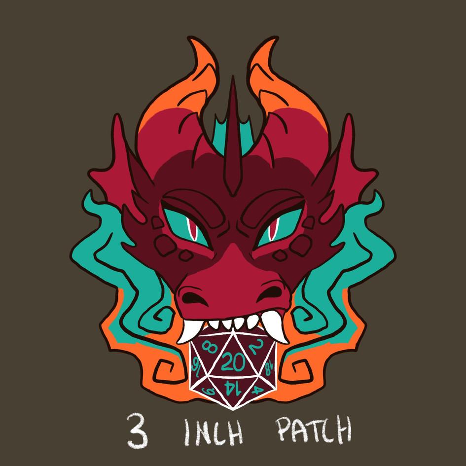 Dragon w Dice Patch