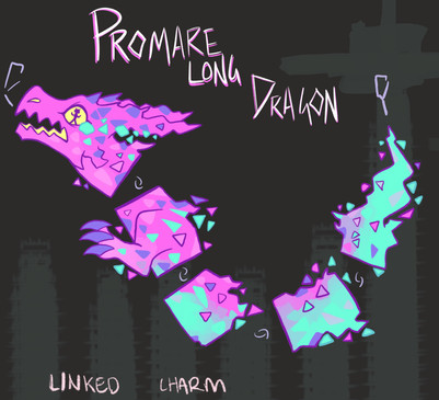 Promare Dragon Linked Charm