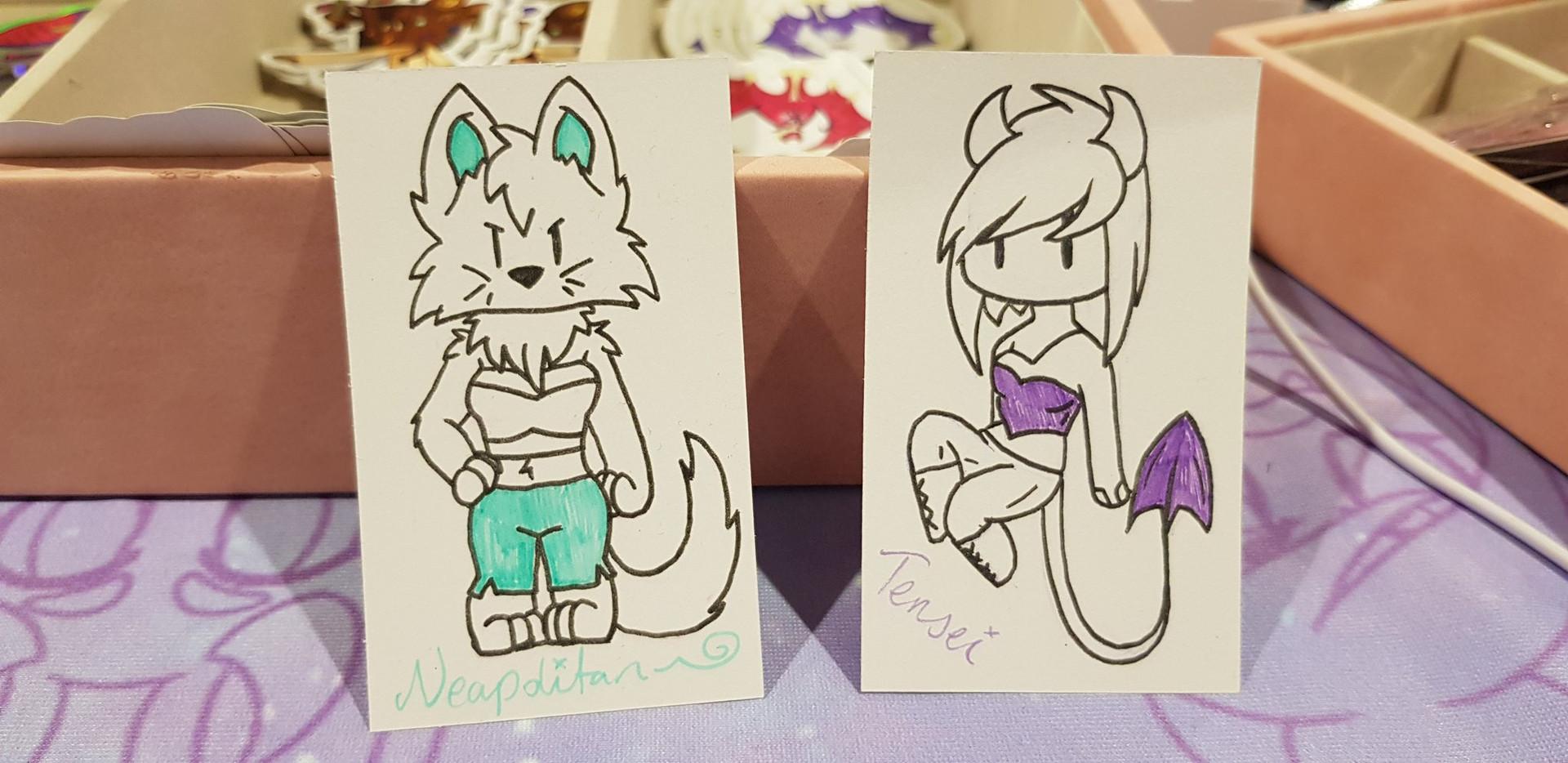Glitter Note Cards