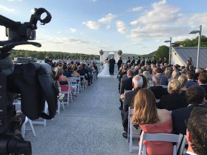 Wedding Ceremony on the Lake