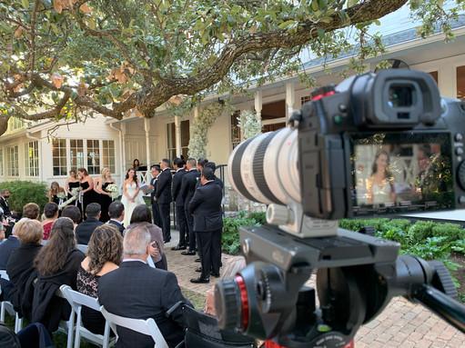 Bride Camera Close-up