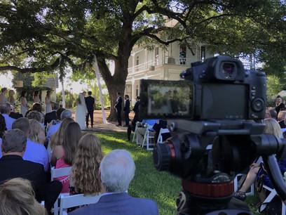 Wedding Ceremony Barr Mansion