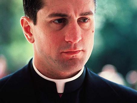 Robert De Niro as priest
