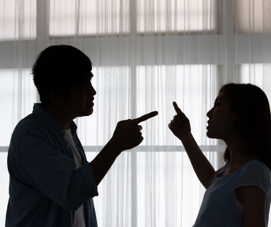relationship drama - couple arguing