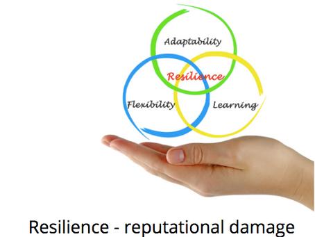 Resilience - reputational damage