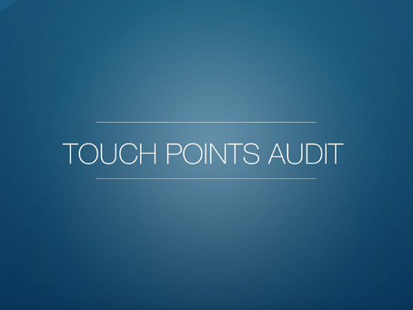 Strategic Planning - Part 5 - Touch Points