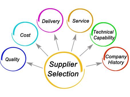 Strategic Planning - Part 2 - suppliers
