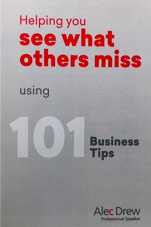 101 Business Tips - SOLD OUT