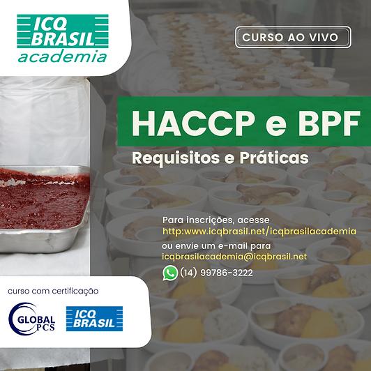 HACCP e BPF - Requisitos e Práticas