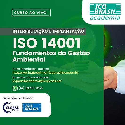 ISO 14001 – Fundamentos da Gestão Ambiental