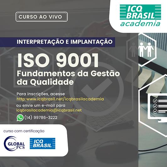 ISO 9001 – Fundamentos da Gestão da Qualidade