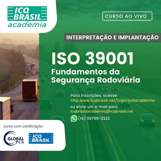 ISO 39001 – Fundamentos da Segurança Rodoviária