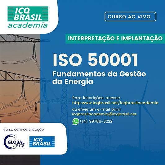 ISO 50001 – Fundamentos da Gestão da Energia