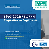 SiAC 2021/PBQP-H - Requisitos do Regimento