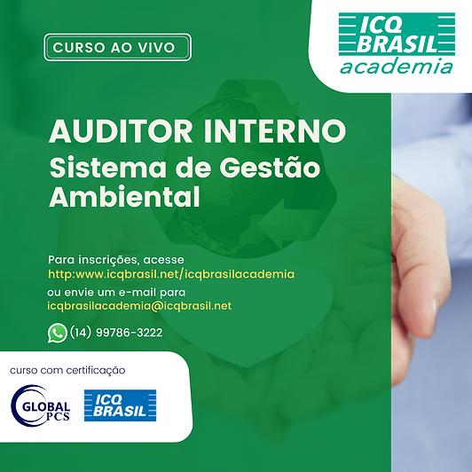 Auditor Interno de Sistema de Gestão Ambiental