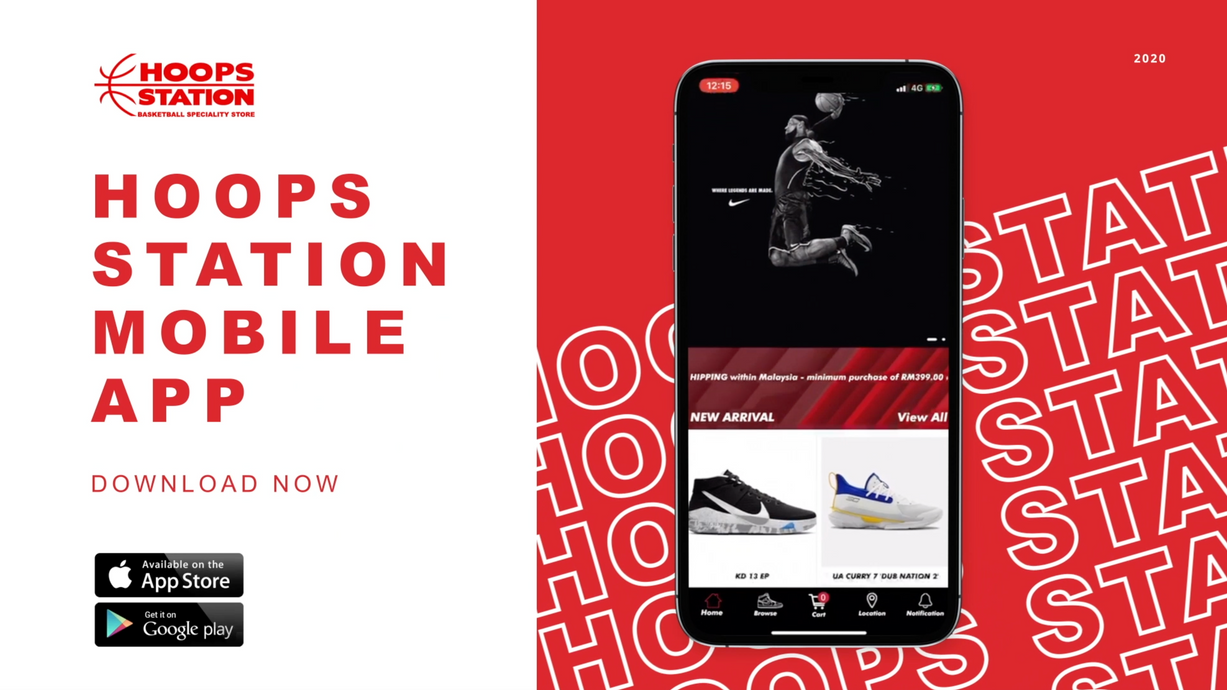 Hoops Station Mobile App