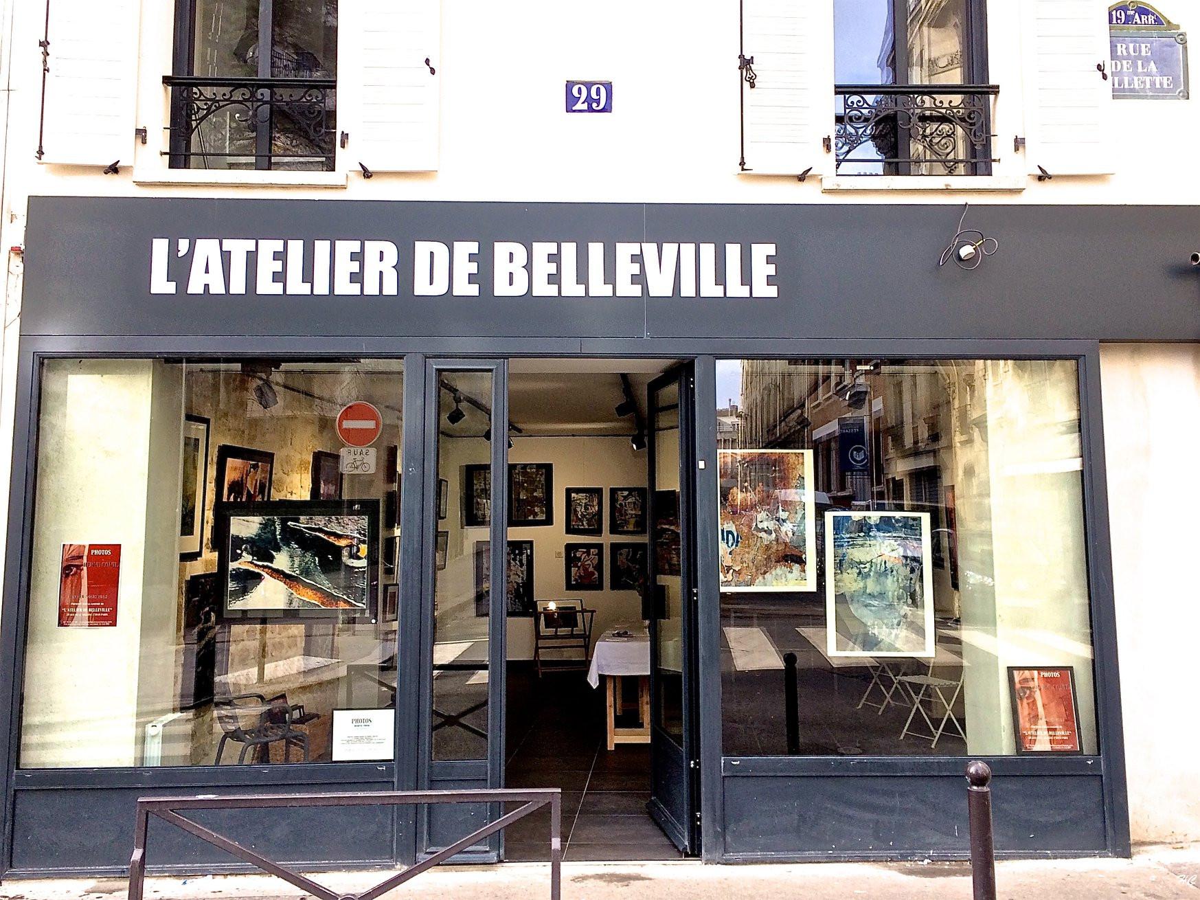 Chassis Atelier D Artiste oeuvres en vente   paris   l'atelier de belleville