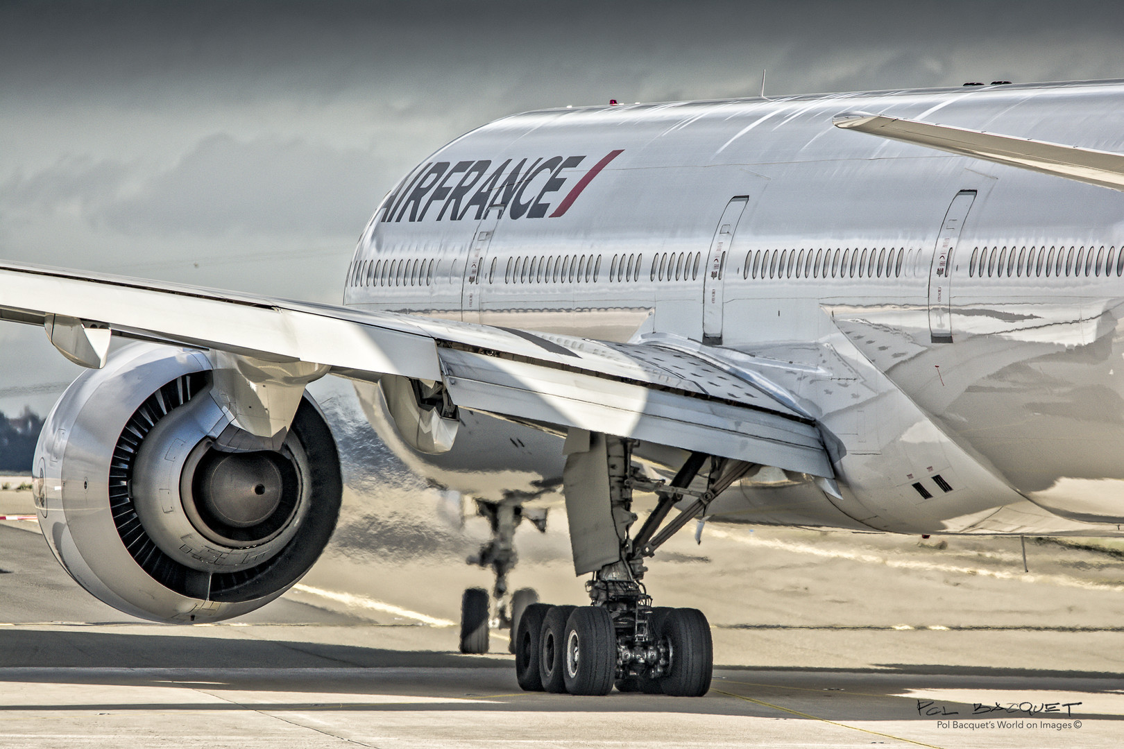 Boeing 777, POL BACQUET