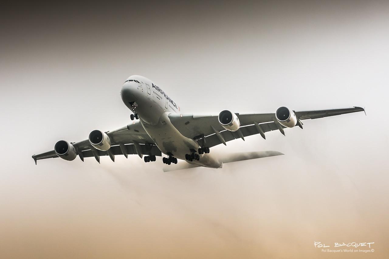 Airbus A380, POL BACQUET