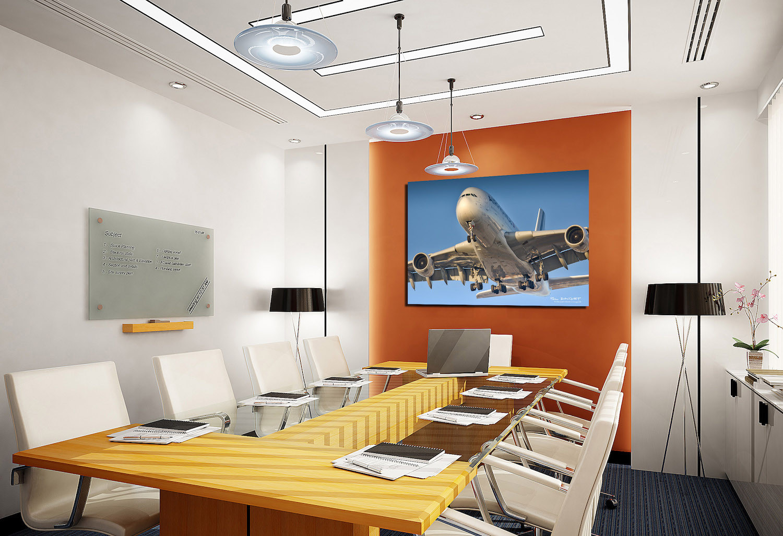 Décoration salle de réunion, POL BACQUET