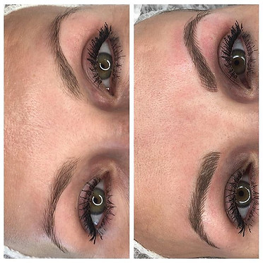 Microblading before and after ✍🏻👌🏻😍