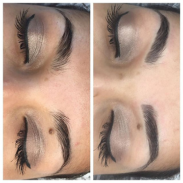 Microblading before and after 🙏🏻👌🏻💍