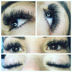 It's a volume thing 🦋 volume lashes ❤❤