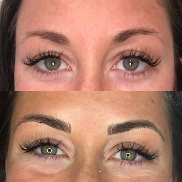 Love this amazing brow transformation
