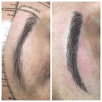 Gorgeous natural brows