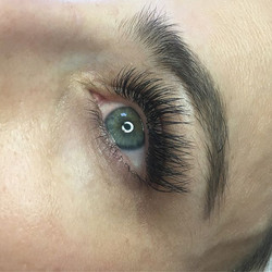 Gorgeous bridal lashes ❤ full set for a