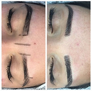 Microblading before and after!