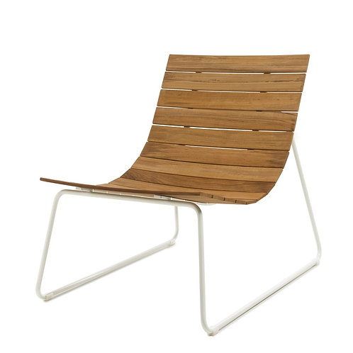 Cluvio Lounger Wit
