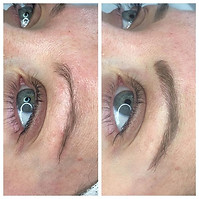 Beautiful microbladed brows