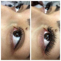 💕💕💕 full set classic lashes on this b