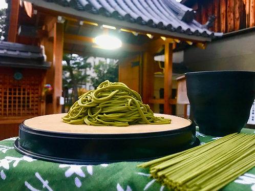 宇治抹茶蕎麥麵 Matcha Soba 600公克入