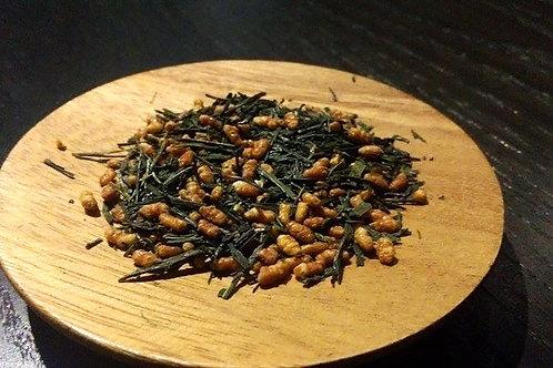宇治玄米茶 <淡然> 一百公克