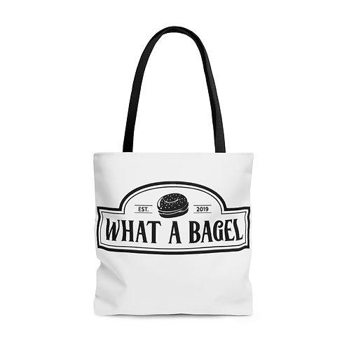 What A Bagel Tote Bag