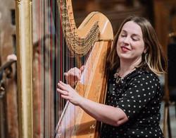 Harpist Keziah Thomas