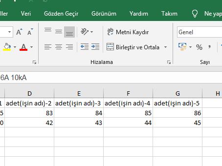 Excel vba Listbox Kullanımı ve Hızlı teklif için bir yol
