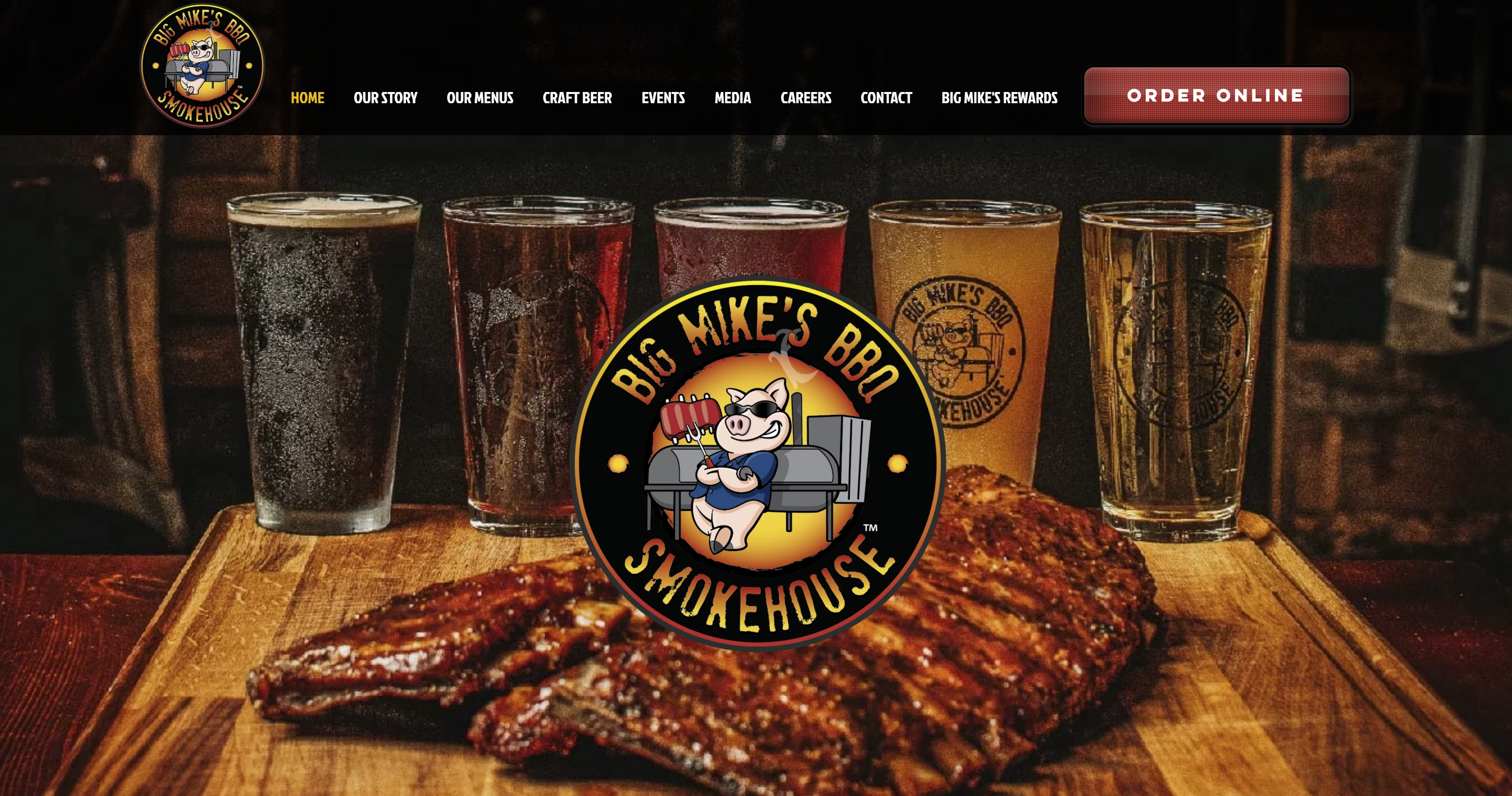 Big Mike's Website ribs