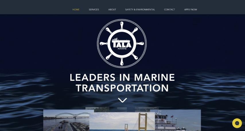 Tala Marine website.png