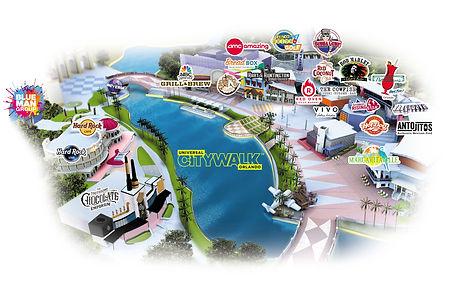 CityWalk Map, Universal Orlando Resort.j