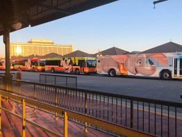 Disney buses see upgrades after Skyliner opening